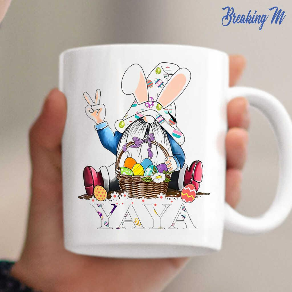 Coffee mug 11oz Easter Gnome Novelty Brand new