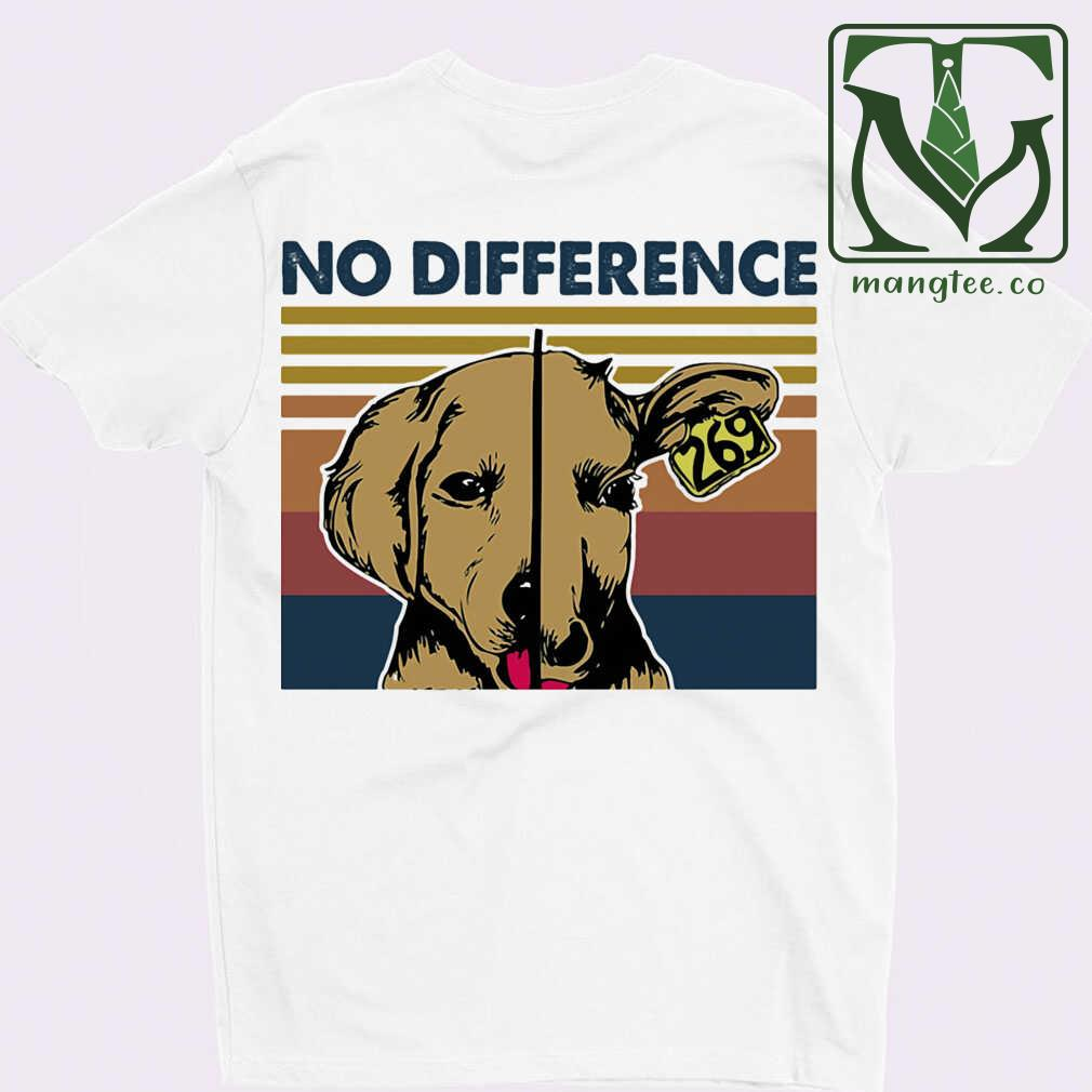 Vegan No Difference 269 Vintage Tshirts White Apparel white - from mangtee.co 3