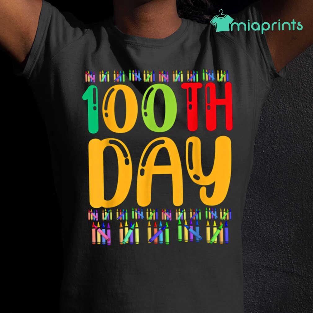 100th Day Of School Life Of Student Tee Shirts Black - from miaprints.co 2