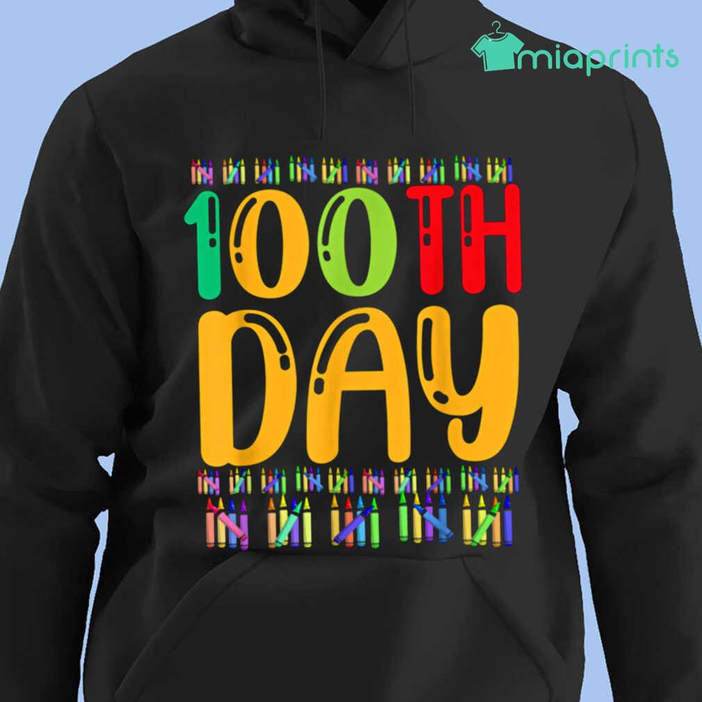 100th Day Of School Life Of Student Tee Shirts Black - from miaprints.co 4
