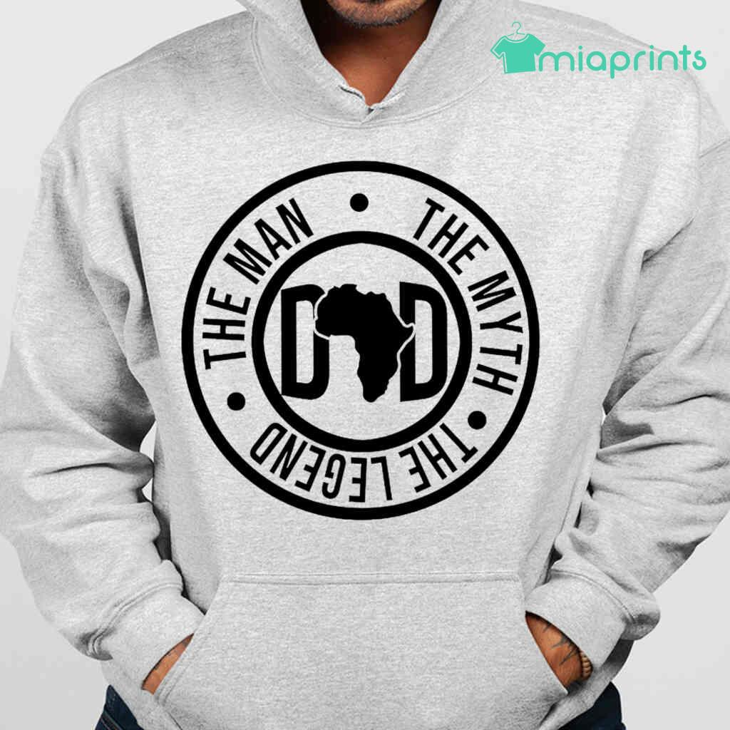 African Dad The Man The Myth The Legend Tee Shirts White Apparel White - from miaprints.co 3