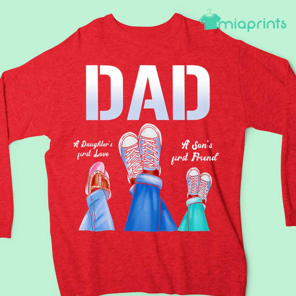 Afro Dad A Daughter's First Love A Son's First Friend Tee Shirts Black Apparel Black - from miaprints.co 4