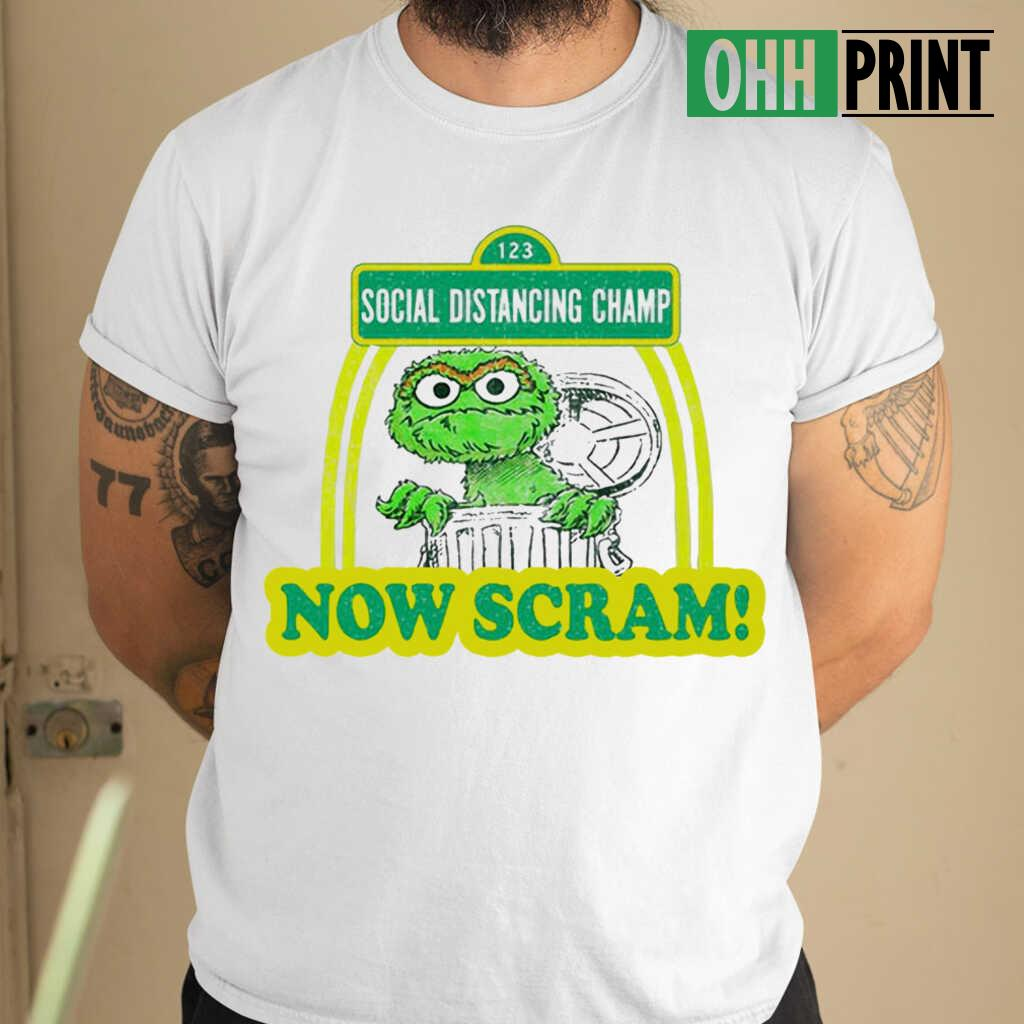 123 Social Distancing Champ Now Cram T-shirts White - from ohhprint.co 1