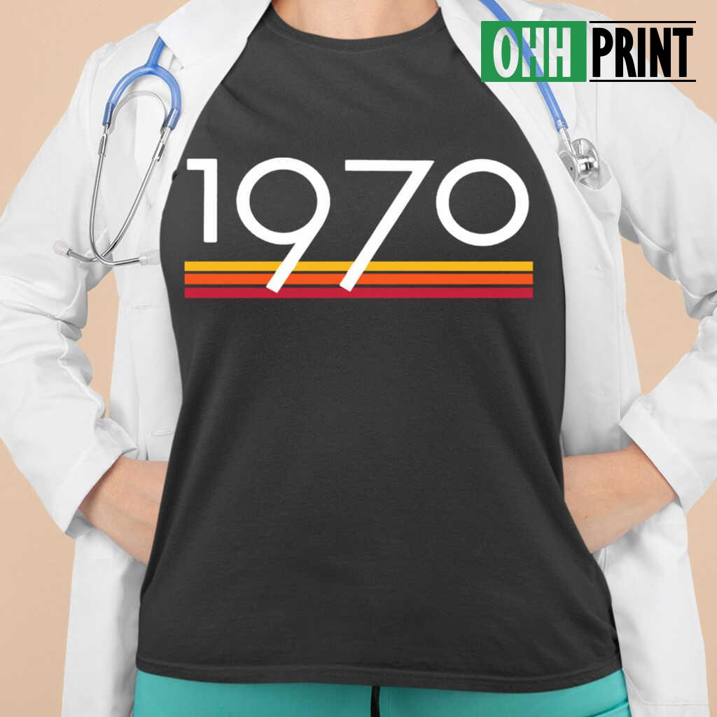 1970 Vintage T-shirts Black Apparel black - from ohhprint.co 2