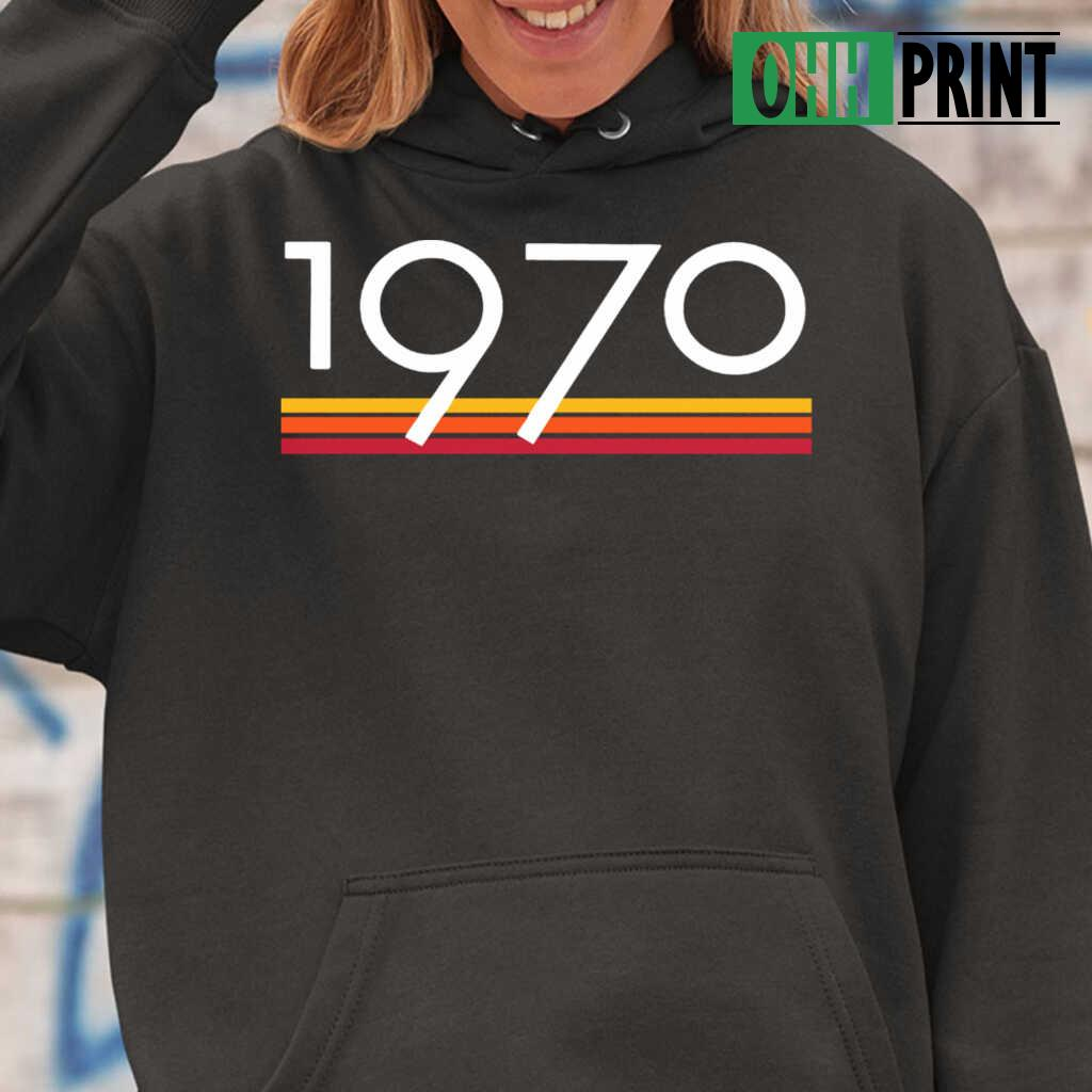 1970 Vintage T-shirts Black Apparel black - from ohhprint.co 3