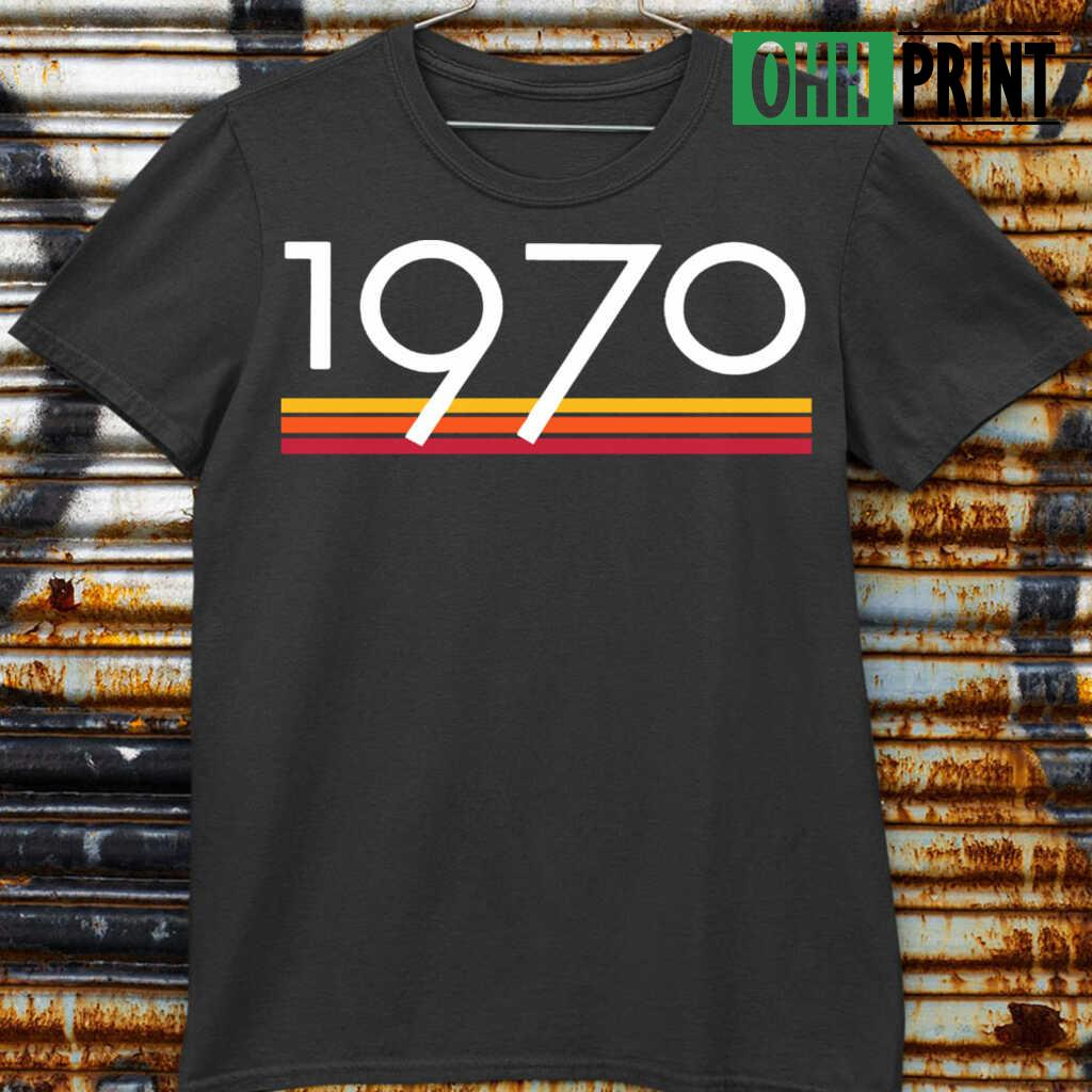 1970 Vintage T-shirts Black Apparel black - from ohhprint.co 4