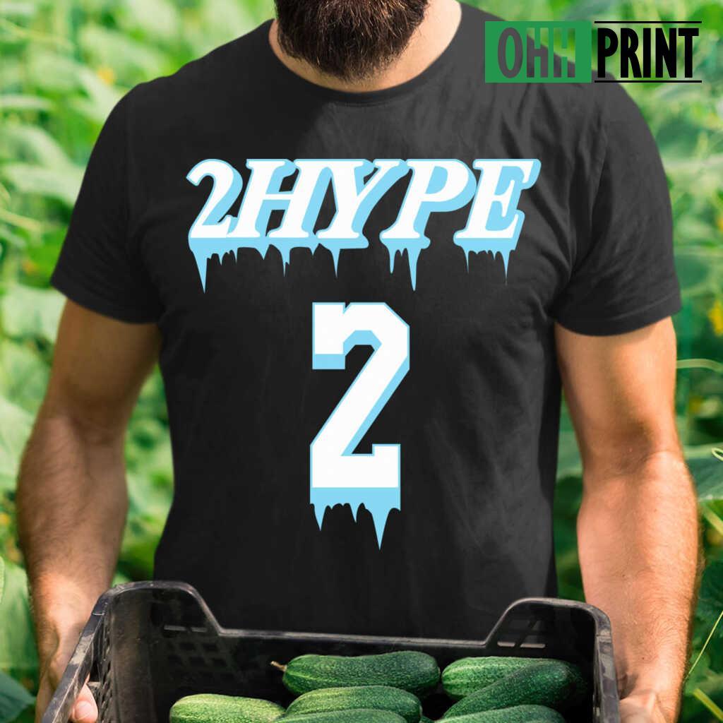 2Hype 2 House T-shirts Black