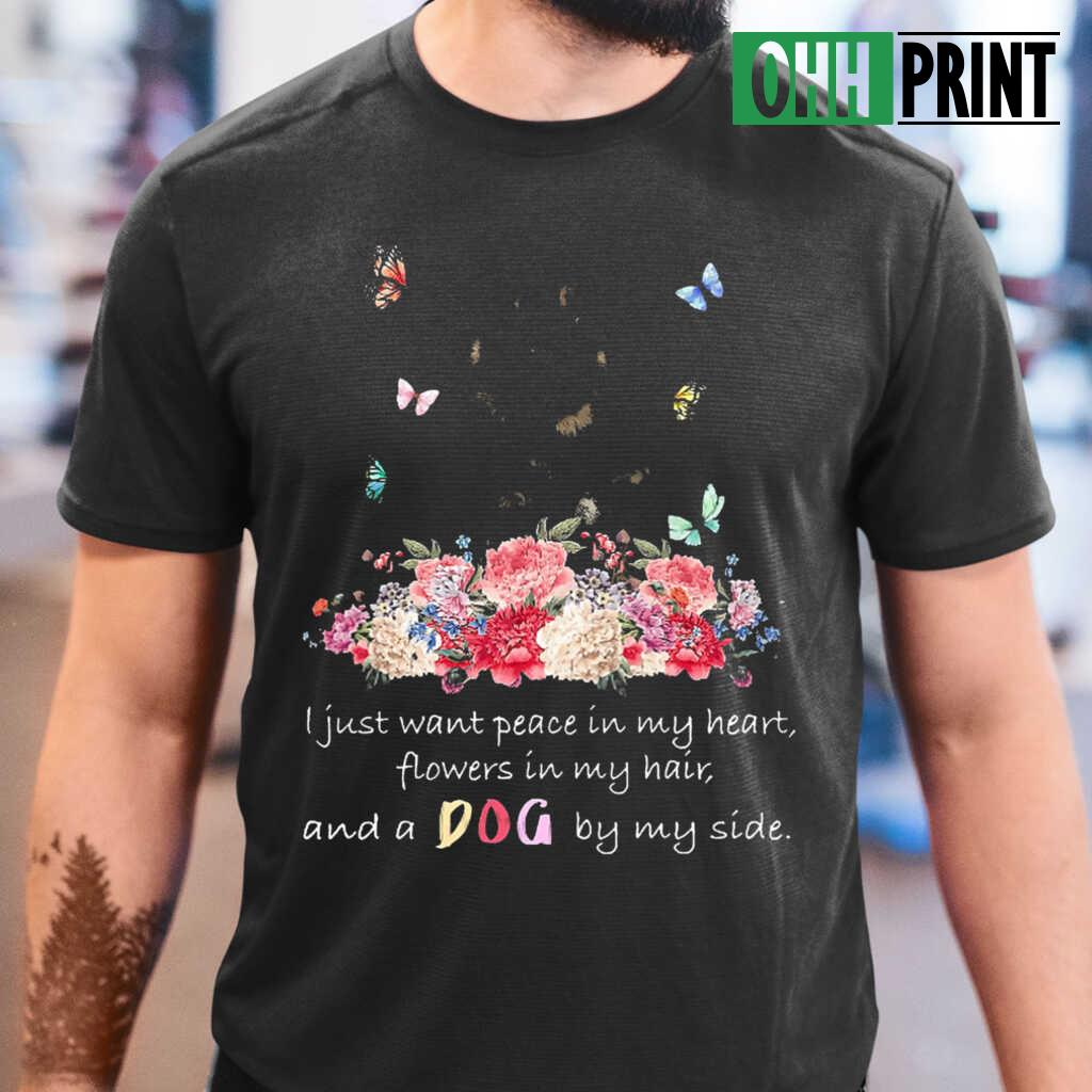 A Dog By My Side Tibetan Mastiff T-shirts Black - from ohhprint.co 1