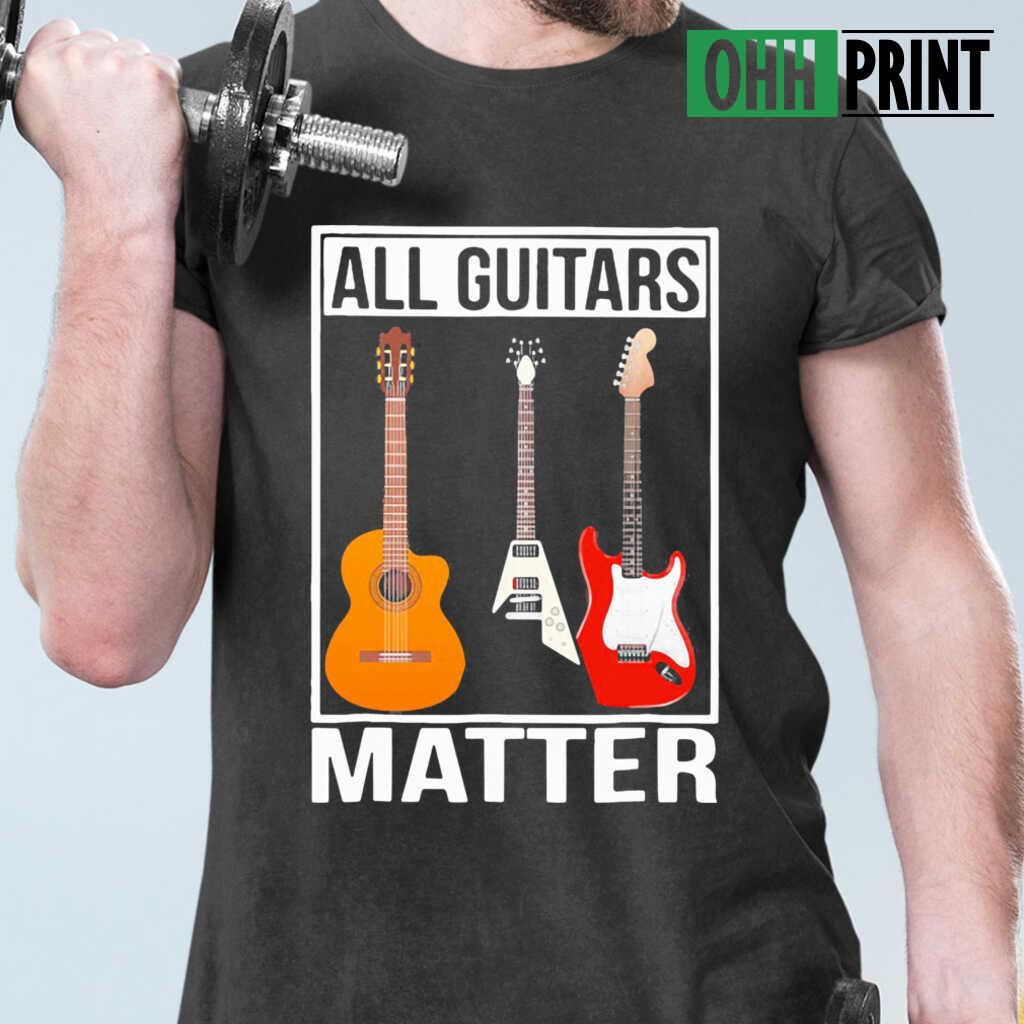 All Guitars Matter T-shirts Black