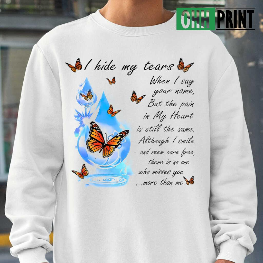 Angel In Heaven There Is No One Who Misses You More Than Me T-shirts White