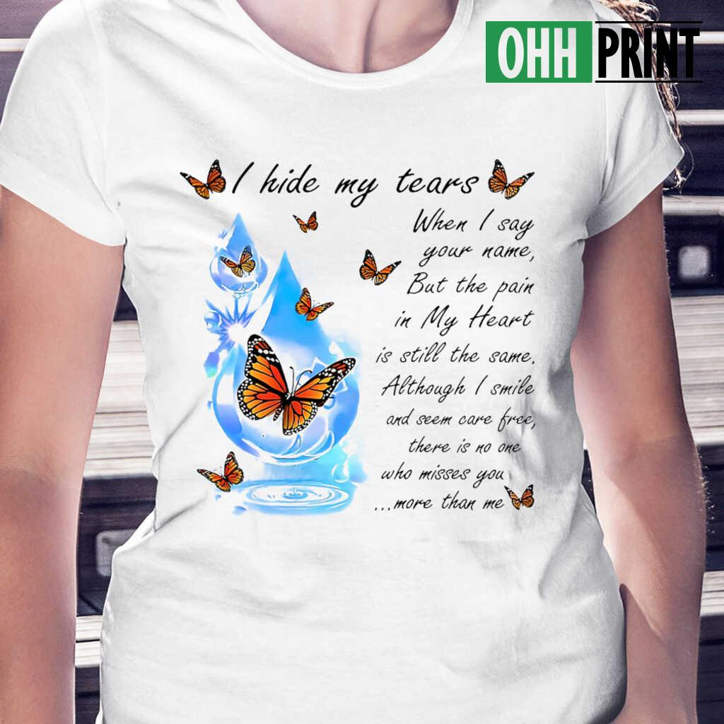 Angel In Heaven There Is No One Who Misses You More Than Me T-shirts White Apparel white - from ohhprint.co 2