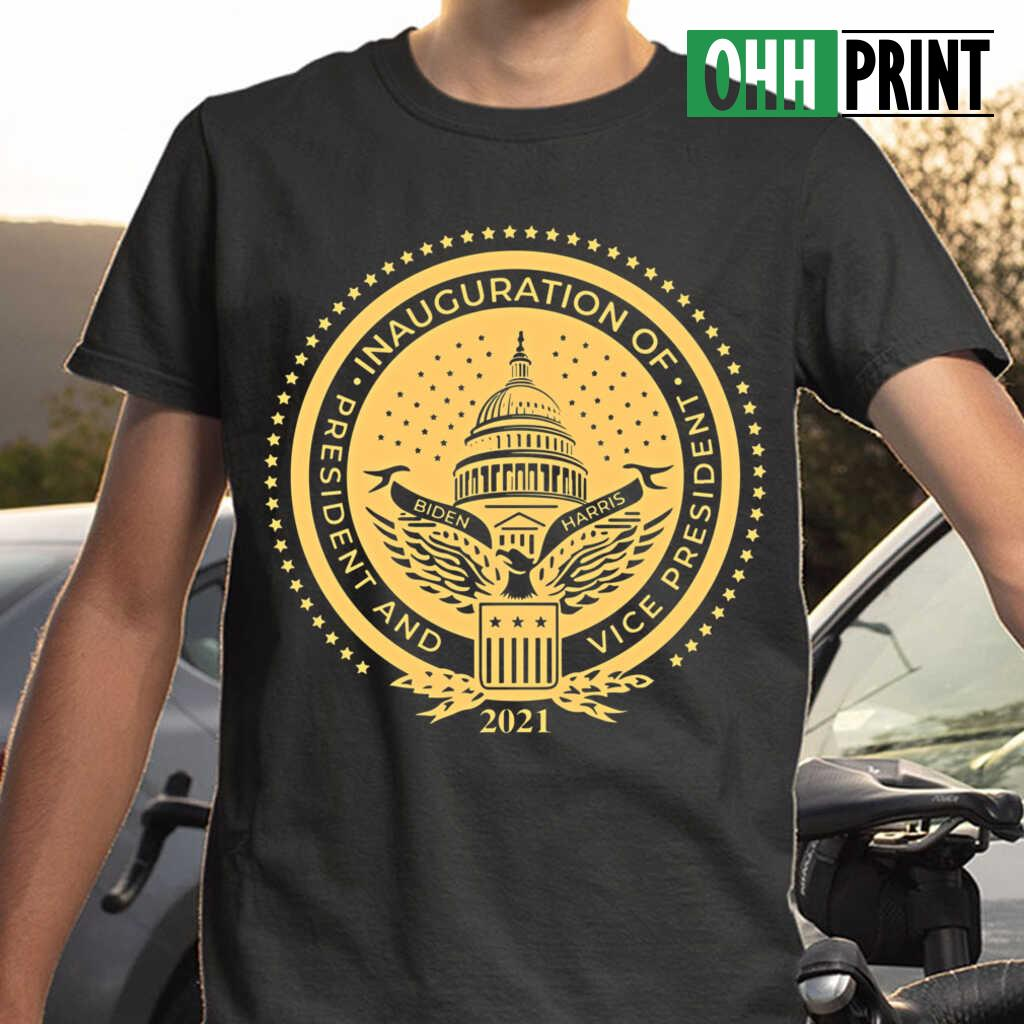 Inauguration Of President And Vice President 2021 T-shirts Black