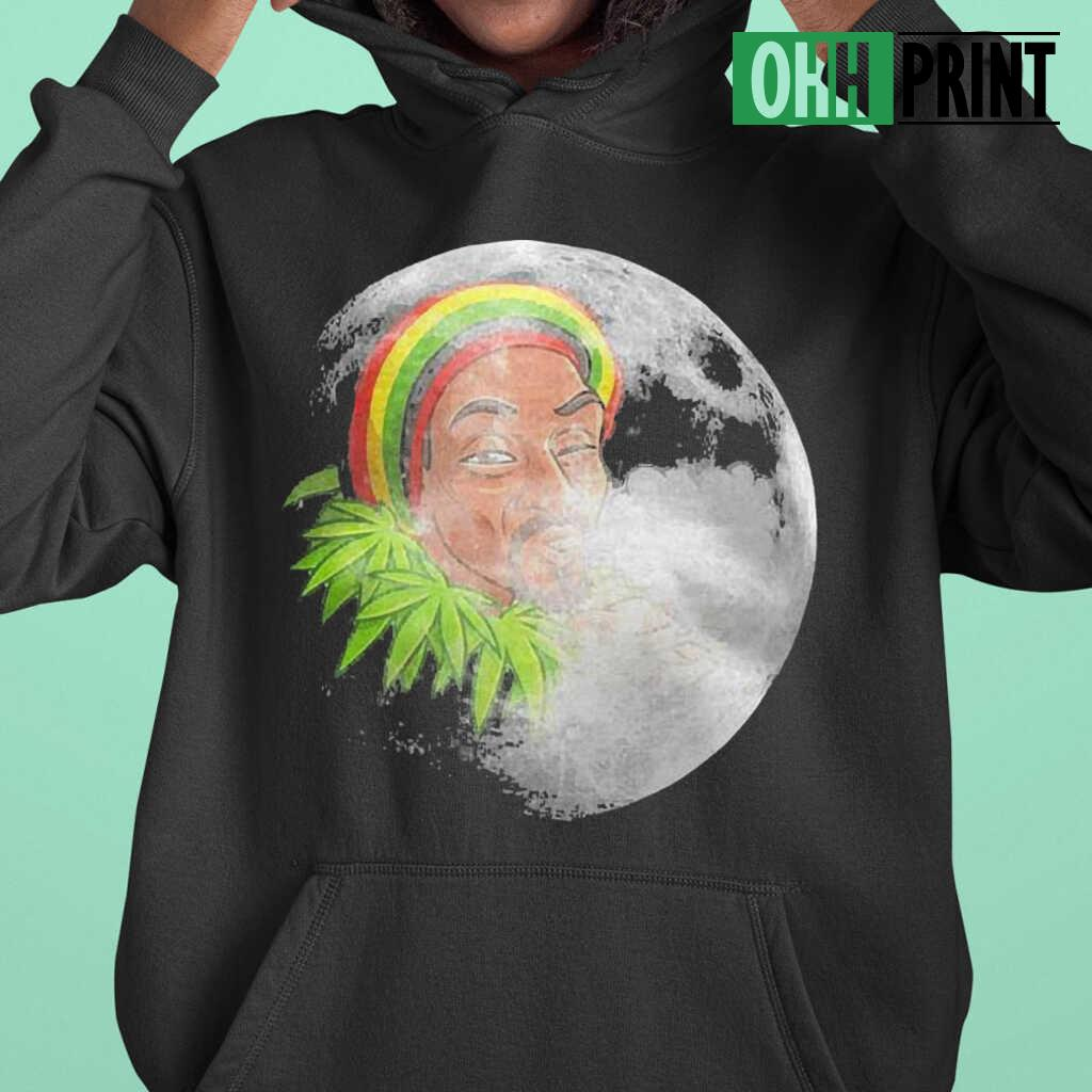 Native Smoke Weed Moonlight T-shirts Black - from ohhprint.co 3