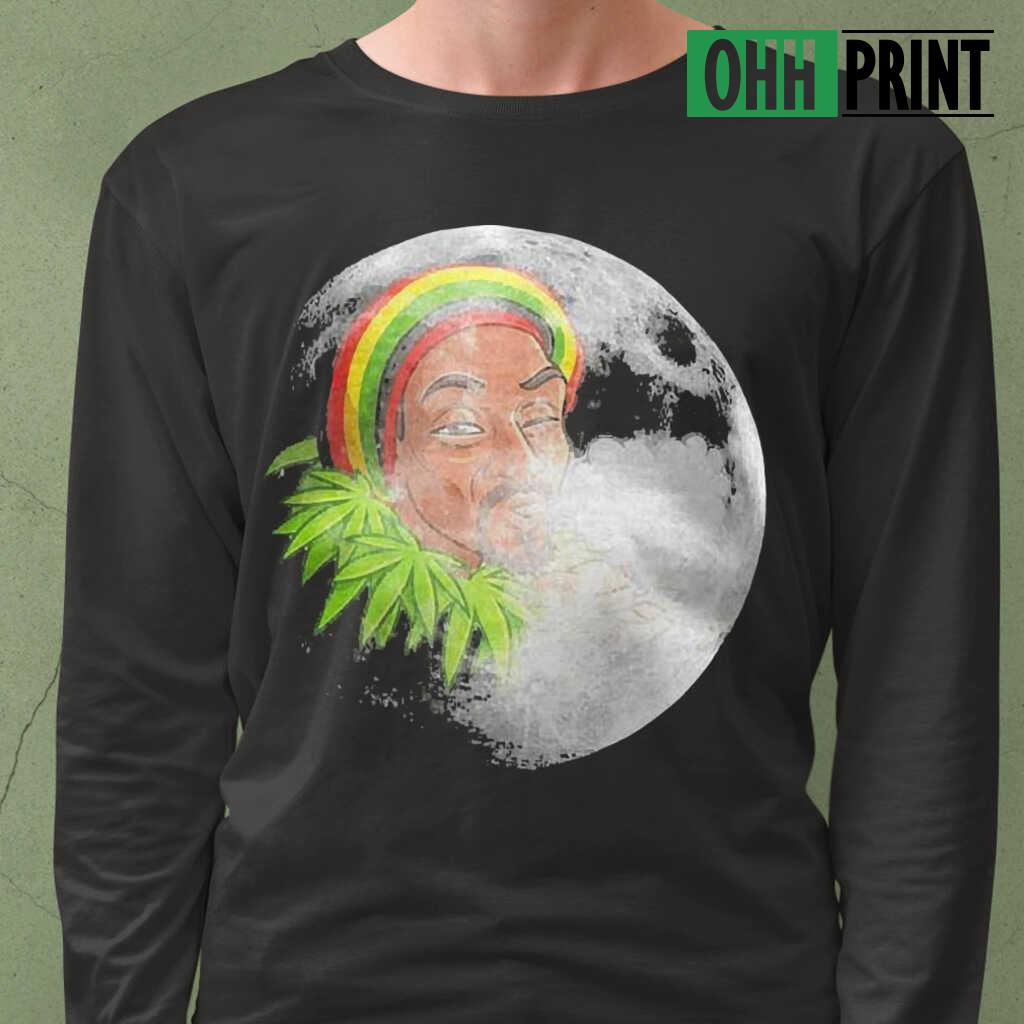 Native Smoke Weed Moonlight T-shirts Black - from ohhprint.co 4