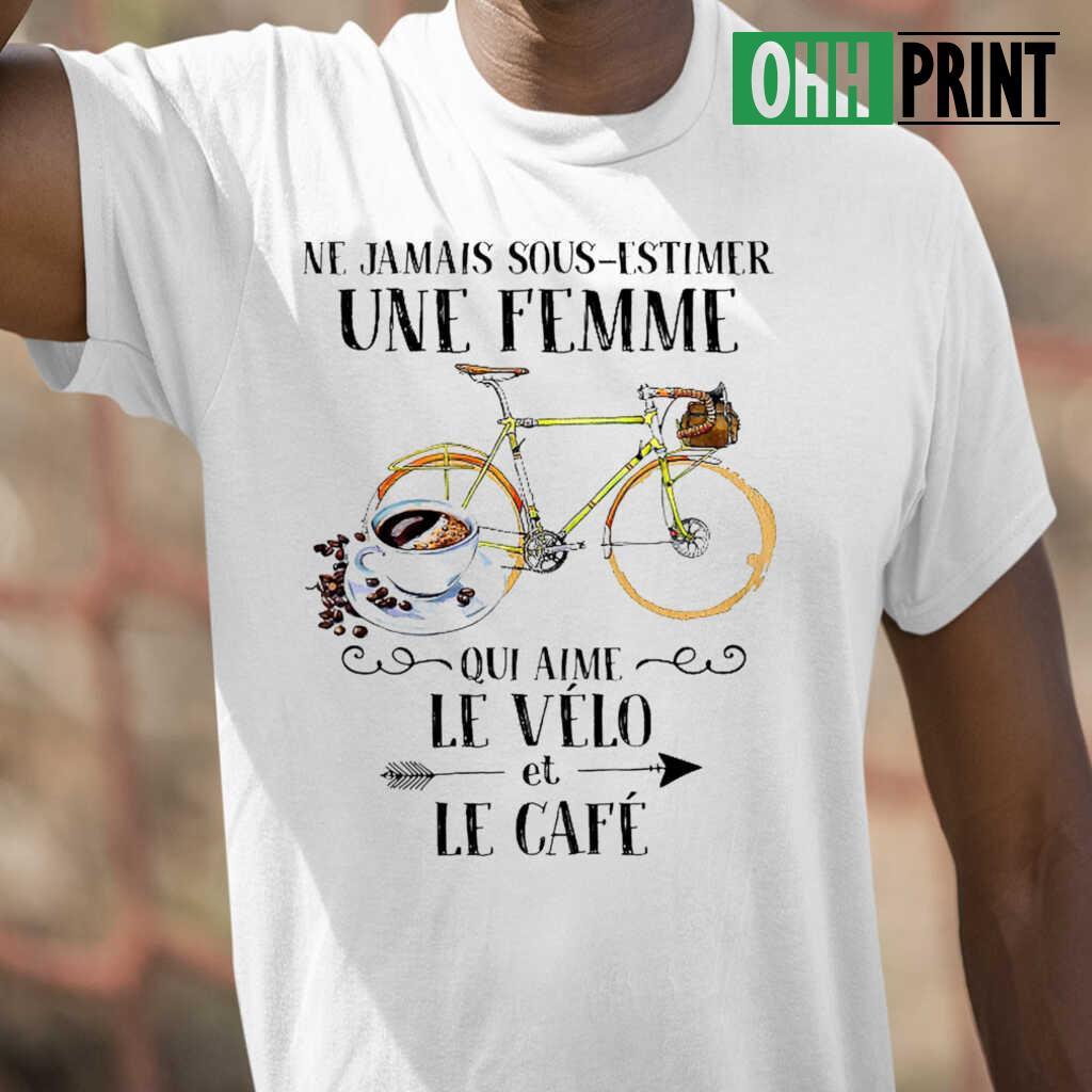 Fille avec un vélo-Ne sous-Estimez jamais Standard Unisexe T-Shirt S-5XL