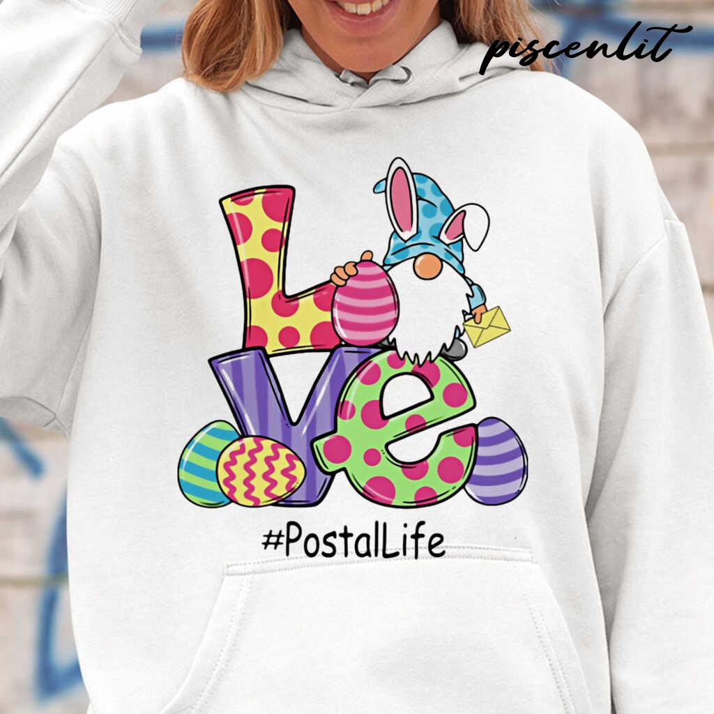 Gnome Love Postal Life Easter Tshirts White - from piscenlit.com 4