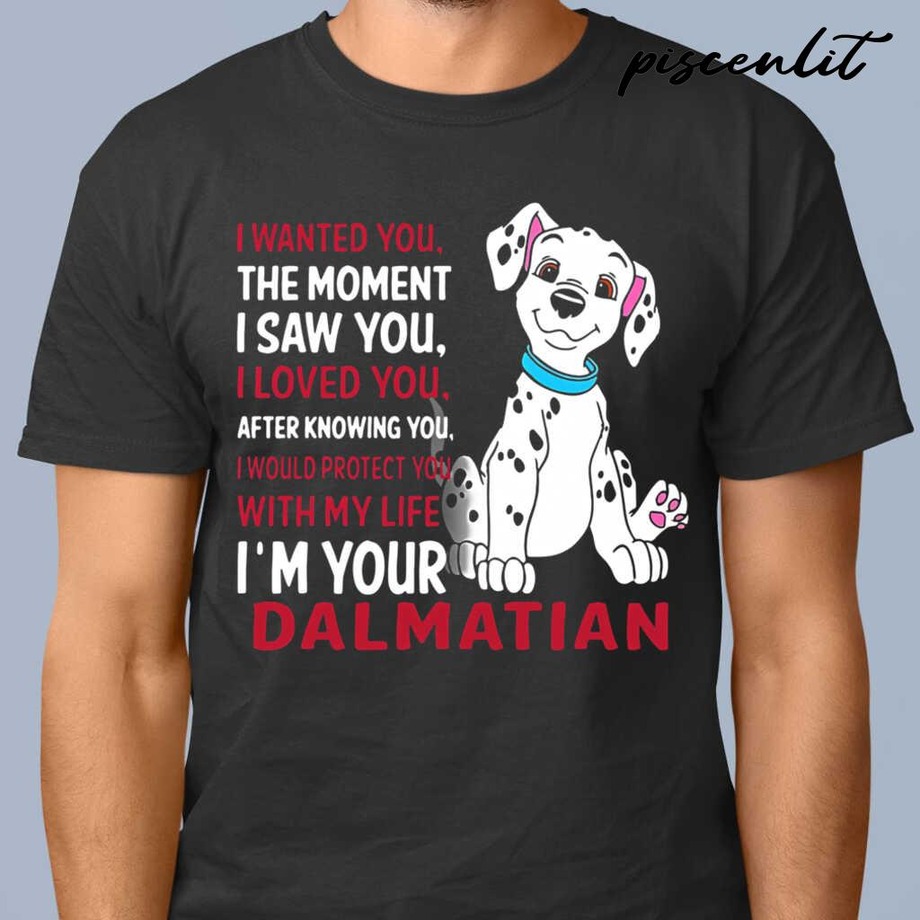 I Wanted You The Moment I Saw You I Loved You After Knowing Tshirts Black - from piscenlit.com 1