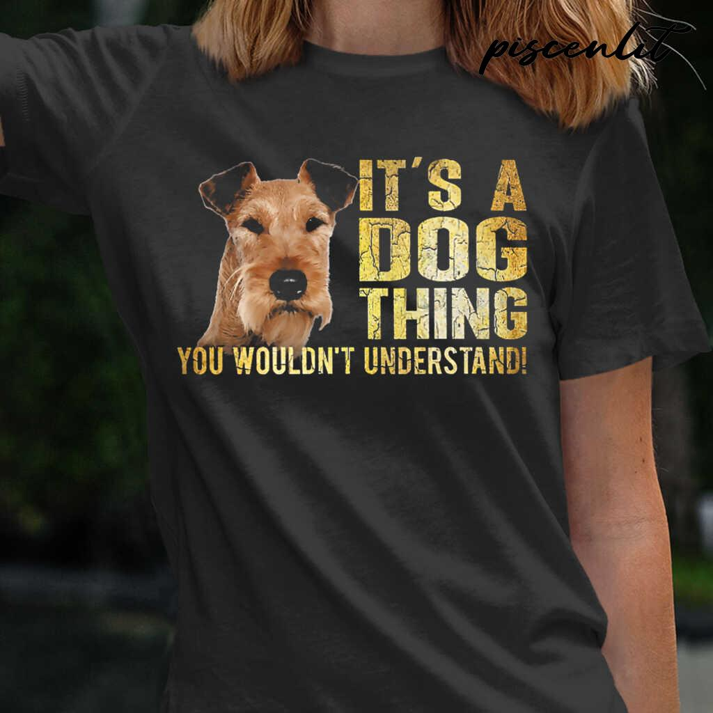Irish Terrier Lover It's A Dog Thing You Wouldn't Understand Tshirts Black - from piscenlit.com 2