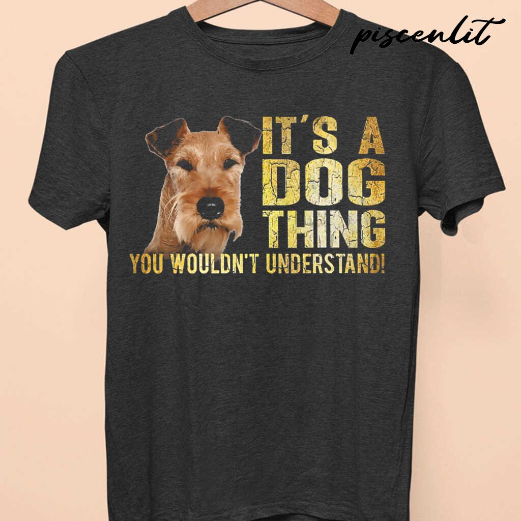 Irish Terrier Lover It's A Dog Thing You Wouldn't Understand Tshirts Black - from piscenlit.com 4