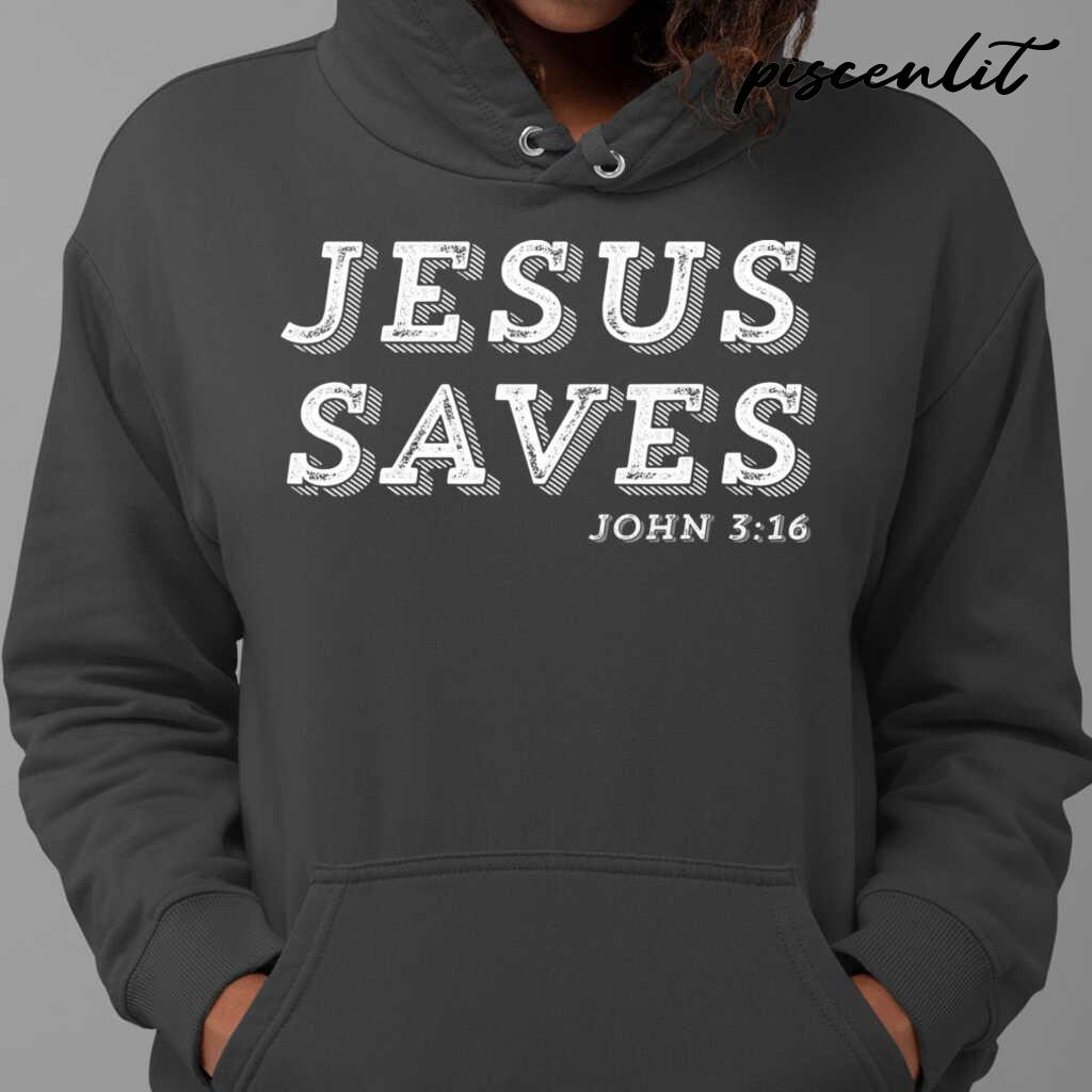 Jesus Saves Message Of Salvation Christian Faith Religion Tshirts Black - from piscenlit.com 4