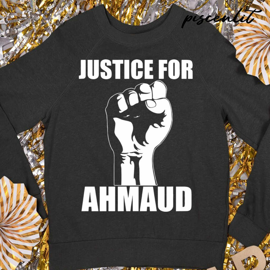 Justice For Ahmaud Tshirts Black - from piscenlit.com 3