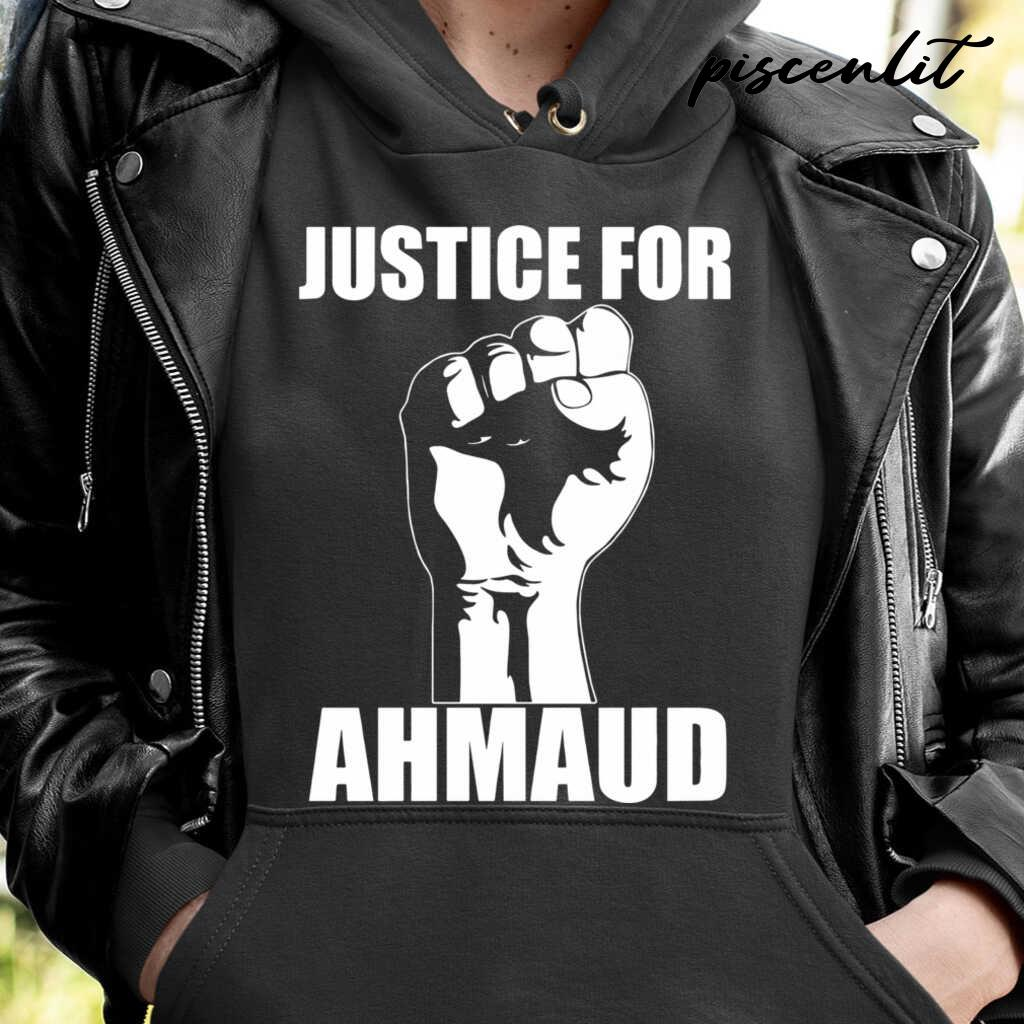 Justice For Ahmaud Tshirts Black - from piscenlit.com 4