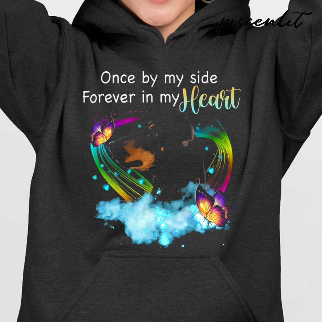 Manchester Terrier Once By My Side Forever In My Heart Tshirts Black - from piscenlit.com 3