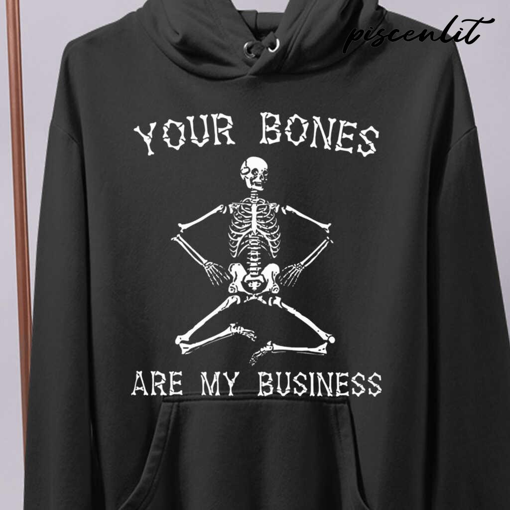 Massage Therapist Your Bones Are My Business Tshirts Black - from piscenlit.com 4
