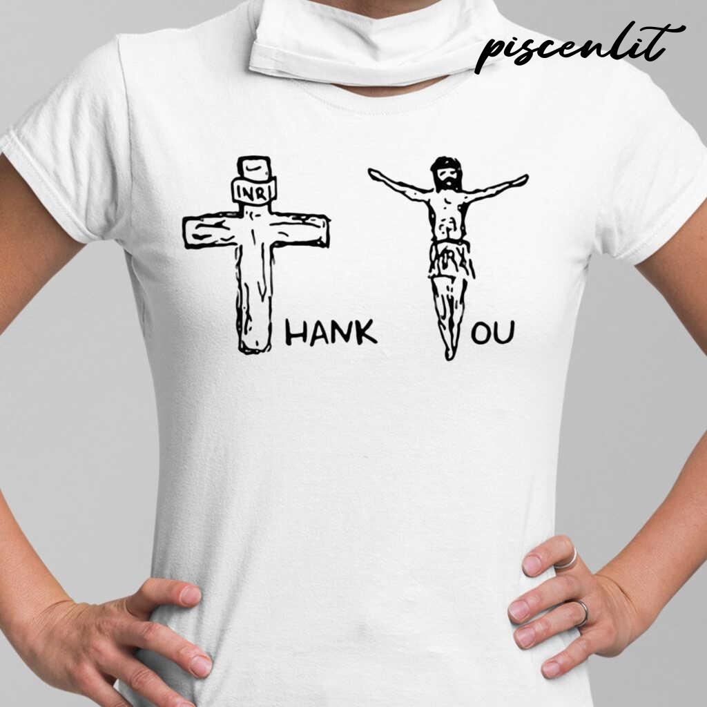 Official Thank You Jesus Tshirts White - from piscenlit.com 2