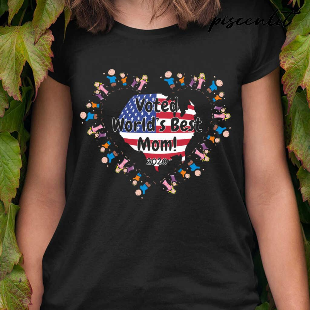 Voted World's Best Mom Tshirts Black - from piscenlit.com 2