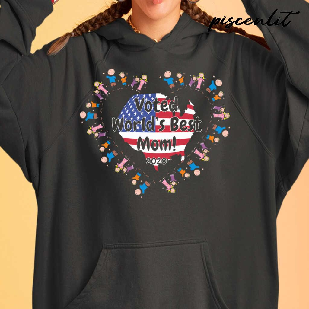 Voted World's Best Mom Tshirts Black - from piscenlit.com 3